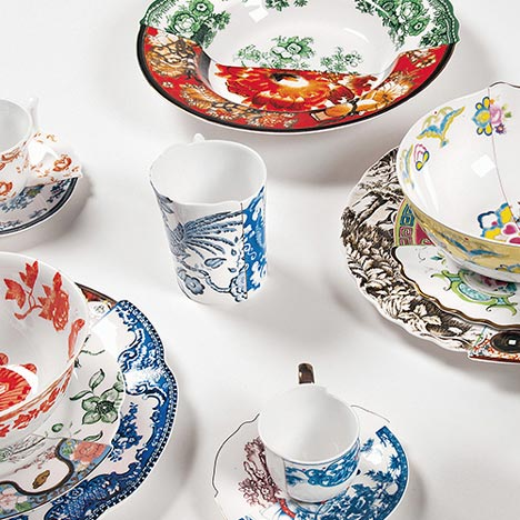 Art and design studio CTRLZAK have launched a collection of tableware where half of each piece resembles traditional Chinese porcelain and the other side ...  sc 1 st  Design Fetish & DESIGN FETISH: Hybrid Collection by CTRLZAK Studio for Seletti