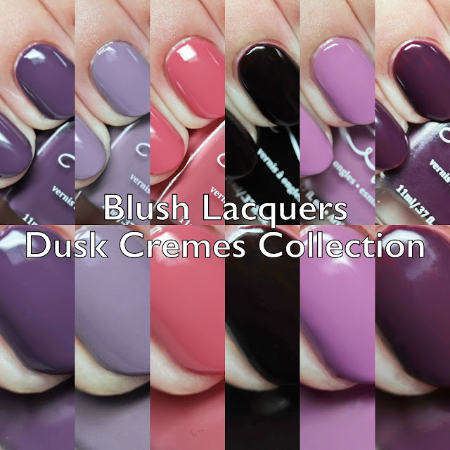Blush Lacquers Dusk Cremes Collection