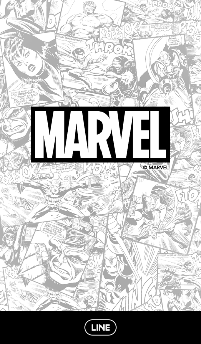 Marvel Comics (Monochrome)