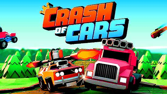 Crash of Cars MOD (Unlimited Gems/Coins) APK For Android