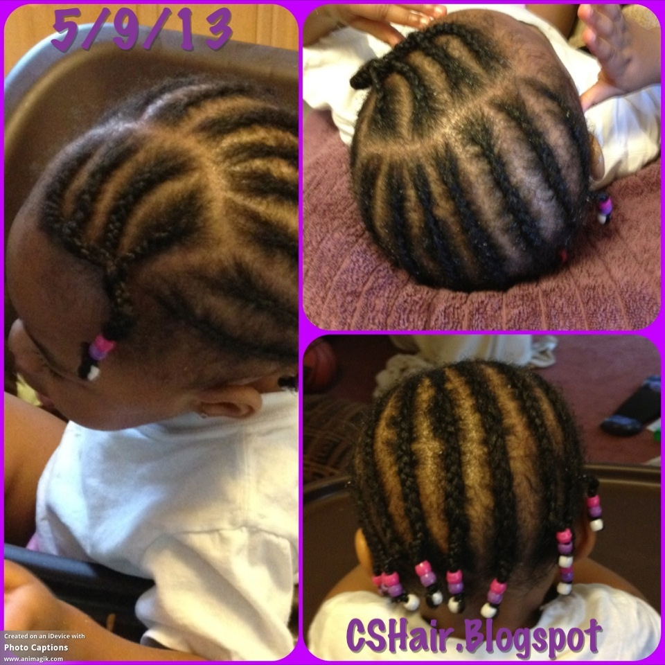 Surprising Hairstyle 19 Cornrows Amp Beads Toddler Hairstyles For Little Hairstyle Inspiration Daily Dogsangcom