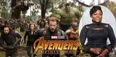 funke akindele dora milaje avengers infinity war