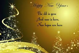 Happy New Year sms for facebook