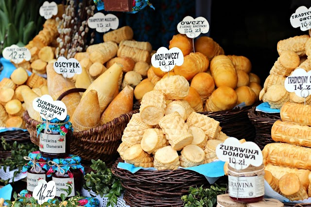 Photos From Krakow's Old Town Easter Market