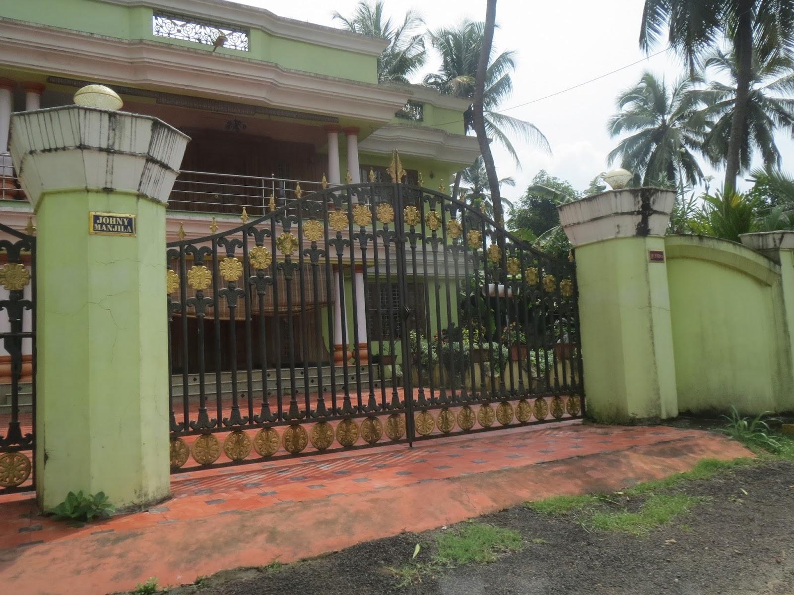 Kerala Gate Designs: House gates in Kerala, India