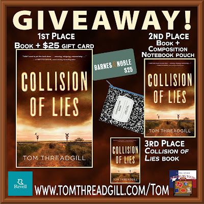 Collision of Lies giveaway graphic