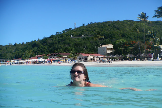 Dickenson Bay Antigua swimming