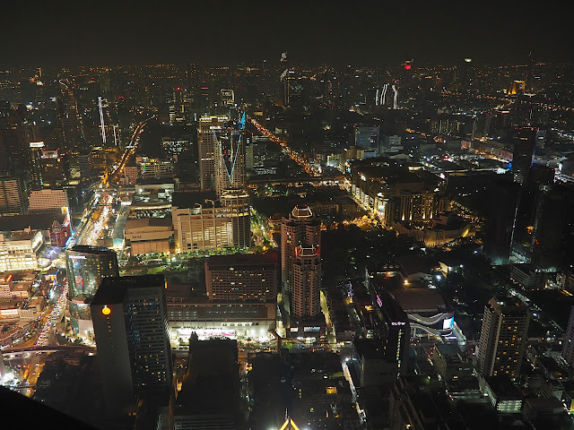 Бангкок, виды с Байок Скай (Bangkok, view from Baiyoke sky)