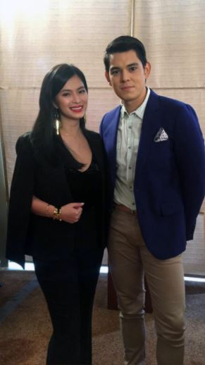 Behind The Scene Photos Of Angel Locsin And Richard Gutierrez  From The Set Of La Luna Sangre That Will Surely Makes You In 'Tickle Pink'!