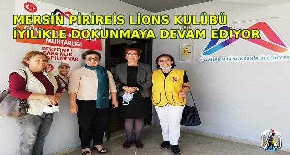 MERSİN,Mersin Haber,Mersin Pirireis Lions Kulübü