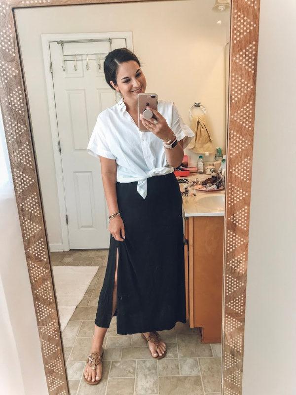 style on a budget, how to style a slip dress, little black dress, north carolina blogger, summer outfit ideas