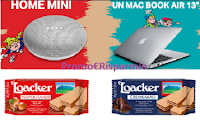 Logo Loacker ''Scuola che bontà'' e vinci Google Home Mini e MacBook Air 13