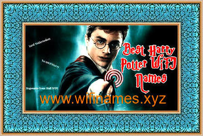Best Wifi Names 2020 Harry Potter Wi Fi Names List for Network SSID 2018   Funny WiFi