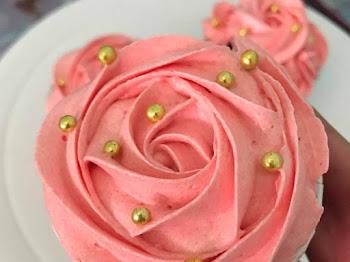 Cubaan Membuat Perfect Swirled Rose Butter Cream Menjadi