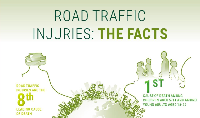 Road Traffic Injuries: The Facts #infographic