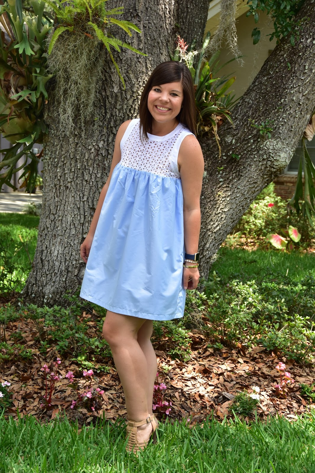 Eyelet Lace Babydoll Dress + Weekender GIVEAWAY!