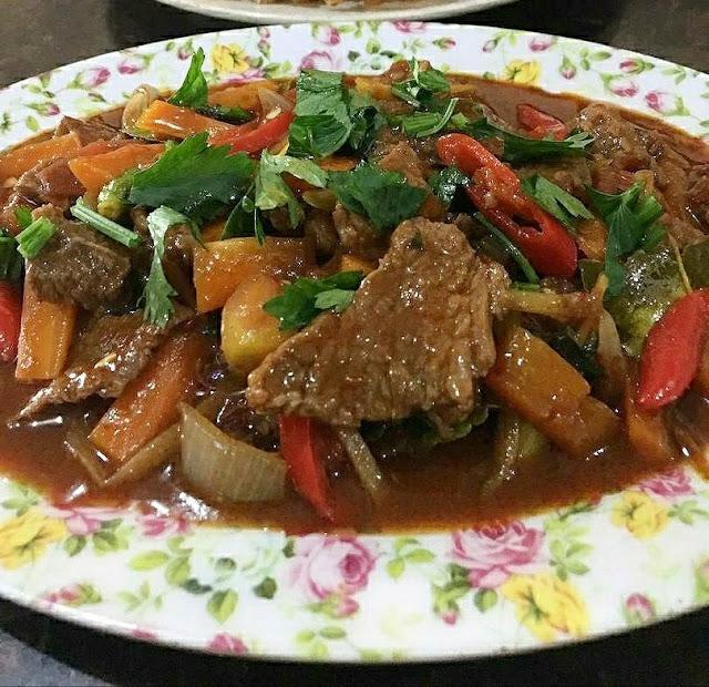 Resepi Paprik Daging