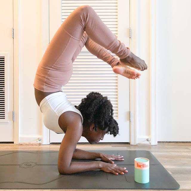 Yoga and menstrual cup