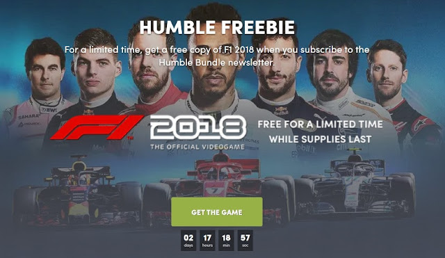 Masa Berlaku Game F1 2018 PC Gratis Humble Bundle