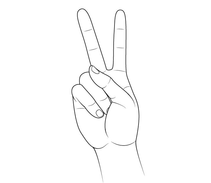 Gambar tanda tangan perdamaian