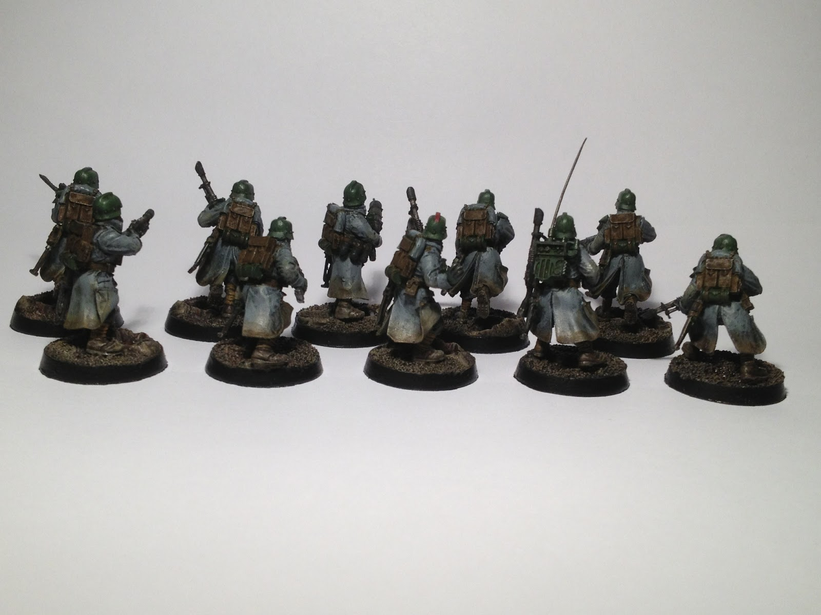 Death Korps of Krieg Squad WIP Back