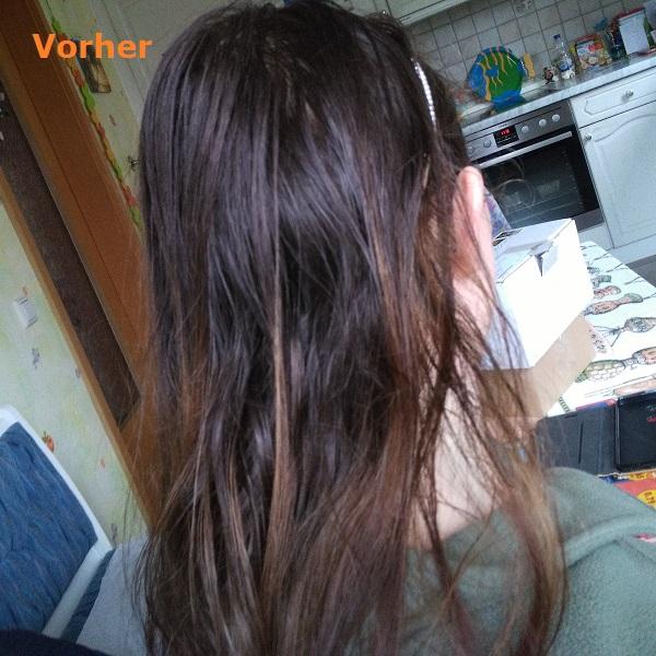 L'ORÉAL Paris Hair Expertise PureRich Shampoo vorher