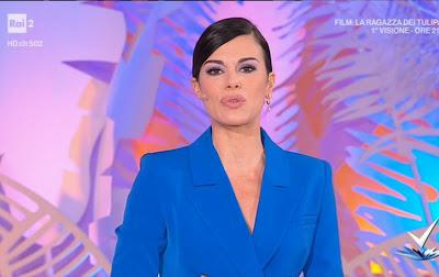 Bianca Guaccero labbra carnose