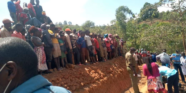 A man cut-off private parts in Luani, Makueni county  photos