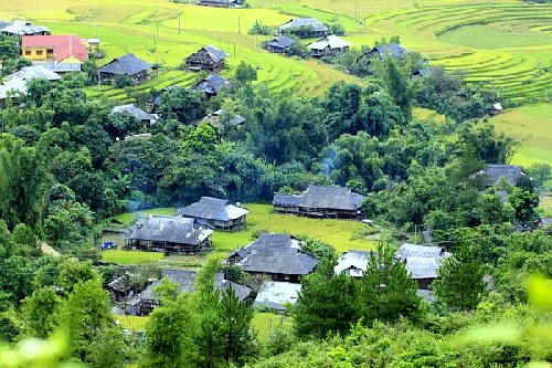 mù cang chải - bản làng người dân Tú Lệ