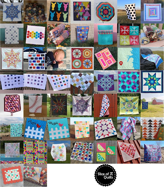 Quilts by Slice of Pi Quilts in 2018