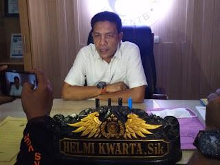 Direktur Narkoba Kombespol Helmi kwarta Kusuma Putra R S.IK