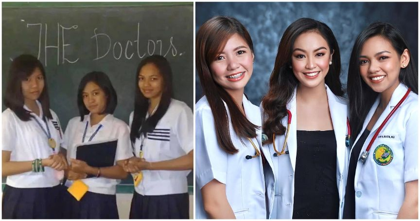 Best friends go viral for becoming doctors together
