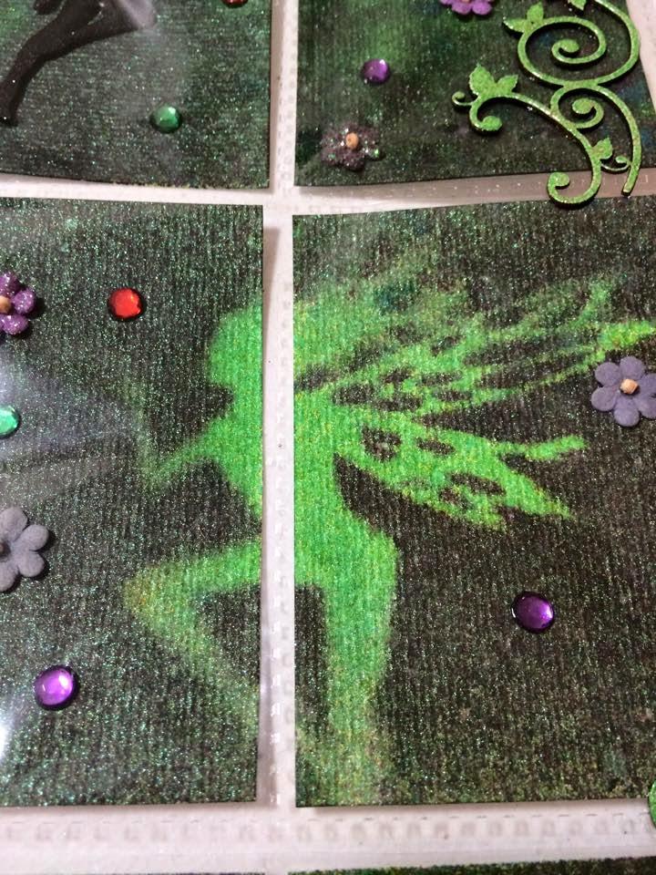 Kgk Gardening Landscape: Ginas Designs: Garden Fairy Pocket Letter