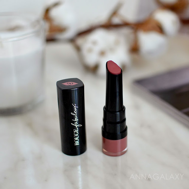 Черный футляр Bourjois Rouge Fabuleux Lipstick 06 sleepink beauty