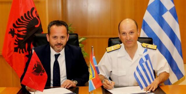 Υπεγράφη πρόγραμμα στρατιωτικής συνεργασίας Ελλάδας – Αλβανίας