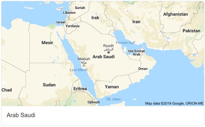 Saudi Arabia Map