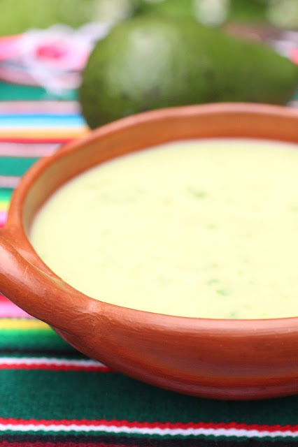 soupe froide mexique