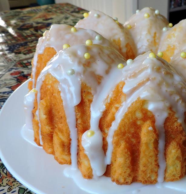 Lush Lemon Pound Cake