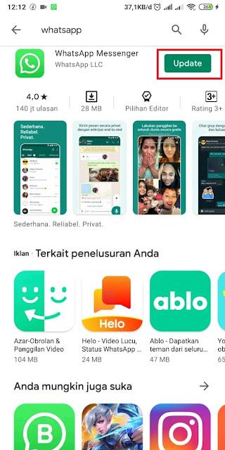 Cara Memperbarui Whatsapp yang Kadaluarsa 2