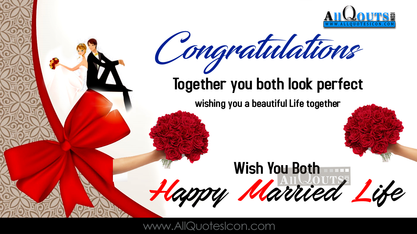 Best happy wedding greetings on a card english quotes www english happy marriage day wishes english quotes images m4hsunfo