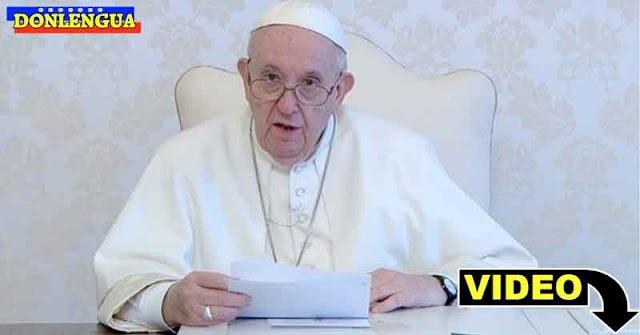 El Papa Francisco expresó sus deseos de venir a visitar a Nicolás Maduro