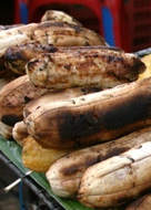 Lao food - Lao Recipe - bbq little bananas