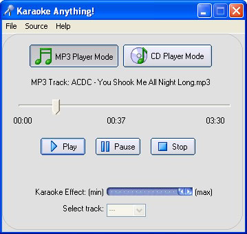 Karaoke Anything - Φτιάξτε Καραόκε από κανονικά τραγούδια