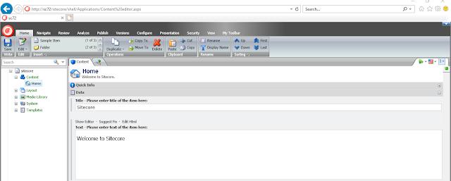 Sitecore 7.2