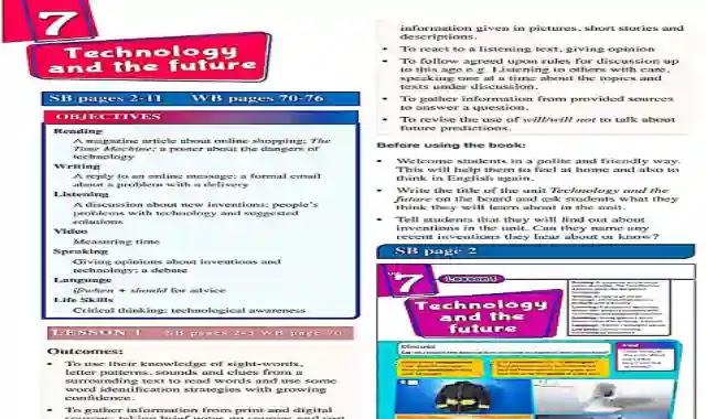 دليل المعلم فى اللغة الانجليزية للصف الثاني الاعدادى الترم الثاني 2021 من موقع درس انجليزي