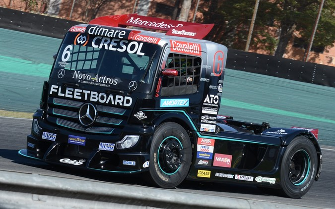 Com Actros da Mercedes-Benz, Wellington Cirino assume a liderança da Copa Truck