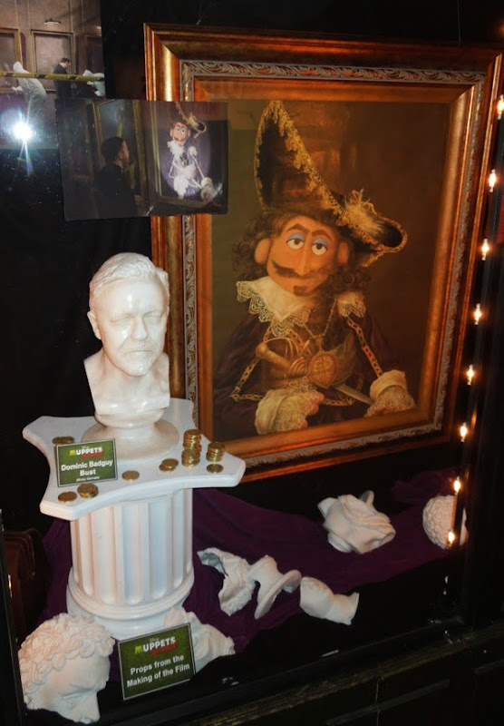 Screen-used Muppets Most Wanted movie props
