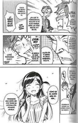 Review del manga Rent-a-Girlfriend Vol.1 de Reiji Miyajima - Editorial Ivrea