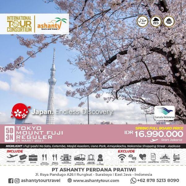 paket tour travel surabaya jepang
