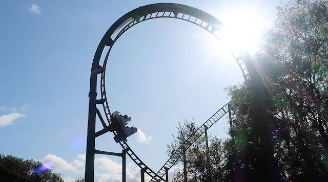 Oakwood rollercoaster